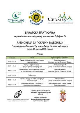 04 Pancevo 25.01.2017 – Agenda