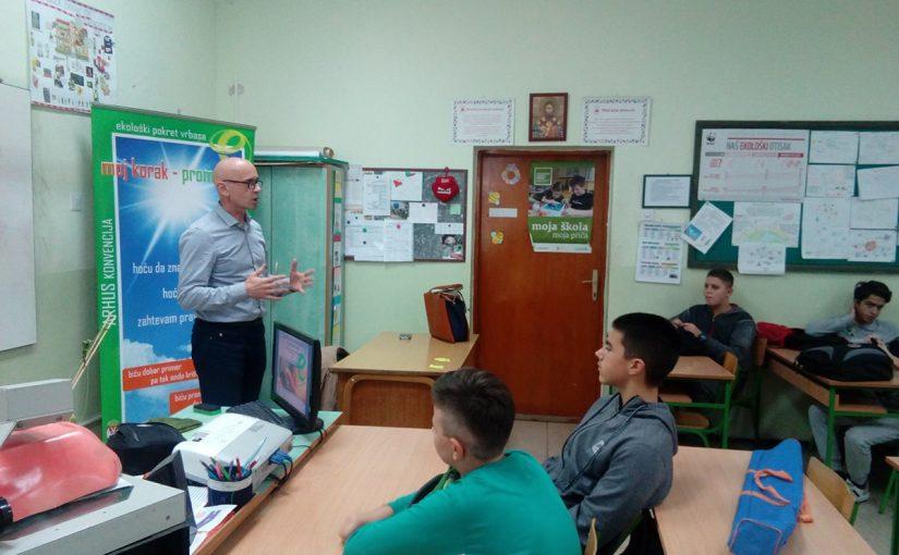 Зелени, а зрели – еколошка школица у Врбасу