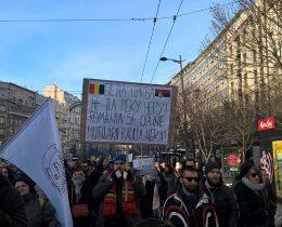 25 Sa protesta u Beogradu