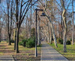01 Pogled sa stepenica od stadiona – Gradski park u Vrscu