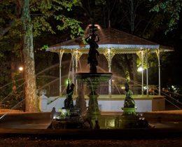 05 Fontana i muzicki paviljon – Gradski park u Vrscu