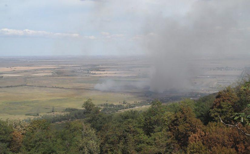 Јужни Банат опет у пламену