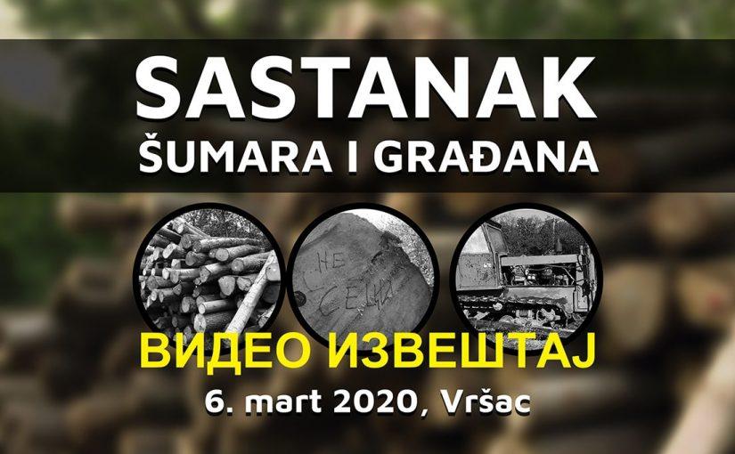 Састанак грађана са шумарима – мали помаци и боља комуникација