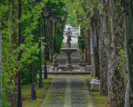 07 Fontana i aleja platana – Gradski park u Vrscu